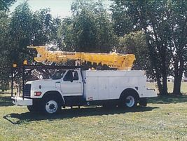 In 1997, Terex purchased Tel-E-lect, which became the foundation for Terex Utilities. Pictured:...
