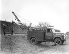 The first Tel-E-lect trucks (designed for Telephone and Electric companies)utilized the truck's...