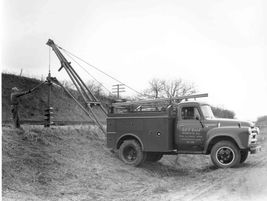 The first Tel-E-lect trucks (designed for Telephone and Electric companies) utilized the truck's...