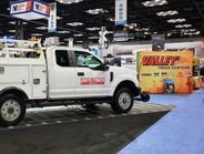 Auto Truck Group displayed several of its upfit options with ARI and Holmann Parts. The...