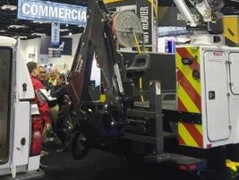 BrandFX also showcased the BFXB 84TXT with modified space for a back hoe and a crane. It also...