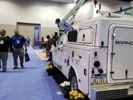 BrandFX brought its Everlast Truck Bodies to the show floor.