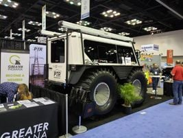 FAT Trucks are an industrial line of off-road utility vehicles. The big tires and unique design...