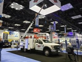 IMT demonstrated its lightweight service package options.