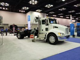 Kenworth Truck Company featured its comprehensive lineup of medium- and heavy-duty work trucks...