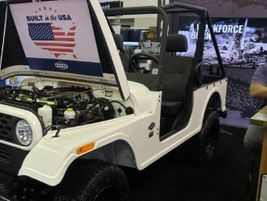 The Mahindra ROXOR is an off-road vehicle ideal for getting places other vehicles can't and...
