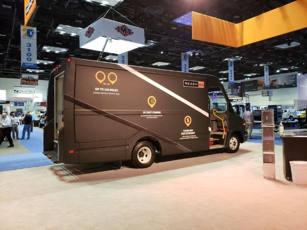 The Utilimaster Velocity M3, built on a Mercedes-Benz Sprinter cab and chassis, combines the...