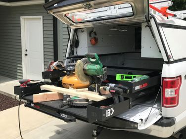 BEDSLIDE turns a truck bed into an easy-access sliding drawer. BEDSLIDE maximizes space, holds...