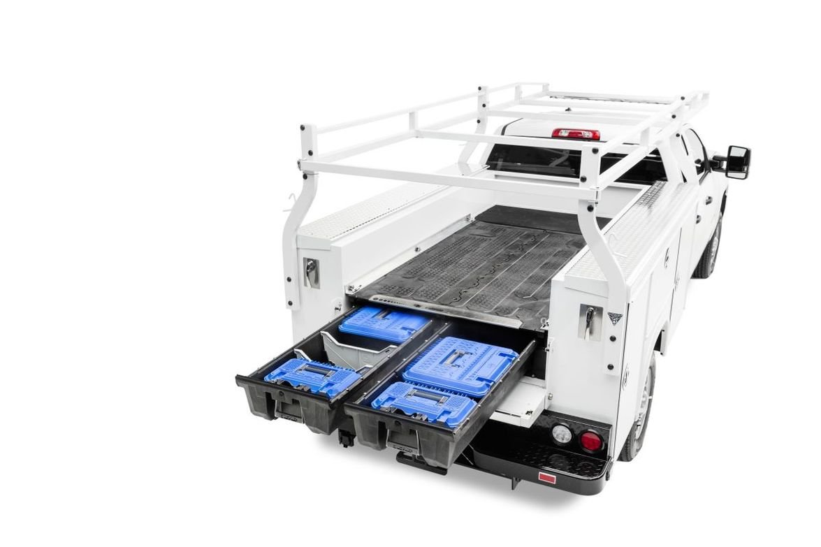 The DECKED Drawer System for service body vehicles is built on the same platform as the...