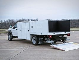 he Knapheide Saw Body is a dedicated body to transport and support heavy concrete saws and...