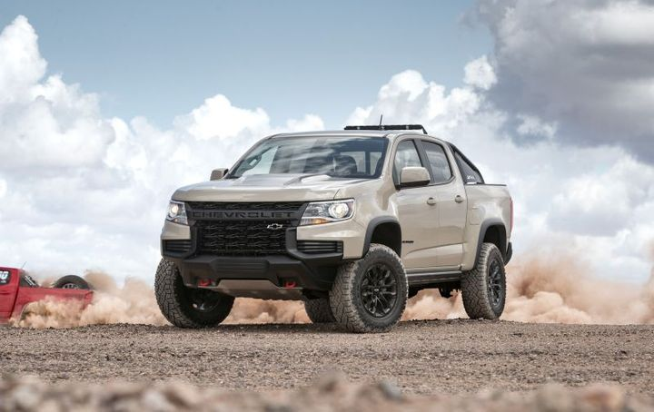 Chevrolet Colorado - Photo: Chevrolet