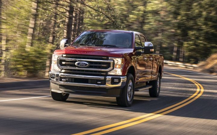 Ford F-250 Super Duty - Photo: Ford