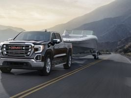 Featuring six engine and transmission combinations, the GMC Sierra 1500 mid-size truck is...