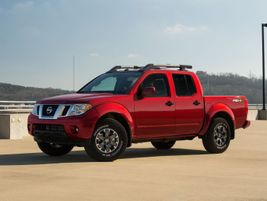 The Nissan Frontier is powered by a 3.8L direct-injection V-6 and 9-speed automatic transmission...