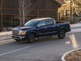 The 2021 Titan is powered by Nissan's 5.6L Endurance V-8 gasoline engine mated to a 9-speed...