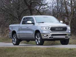 Featuring up to 12,750 pounds of towing capability and 2,300 pounds of payload, the 2021-MY Ram...