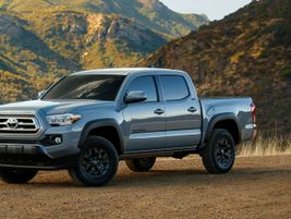 Updated for the 2021-MY, the Toyota Tacoma is in its third-generation and available in 32...