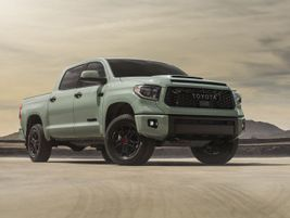 The 2021 Toyota Tundra will be powered exclusively by the 5.7L i-FORCE V-8 engine that achieves...
