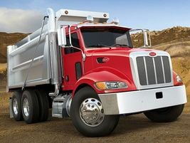 The PeterbiltModel 348 represents a GVW beginning at 33,000 pounds and optional capacity...