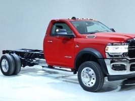 The Ram Chassis Cab 3500, 4500, and 5500 trucks represent Class 3, 4, and 5 GVW ratings,...