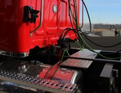 Clear back-of-cab packaging helps speed up upfits and includes forward-mounted DEF tanks, a...