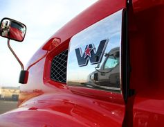 Western Star has made sure that the truck is durable, including utilizing metal accent plates...