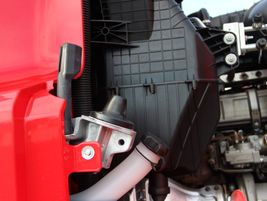 The ISO Tech Hood Suspension system isolates, absorbs and dissipates vibrations from the chassis...