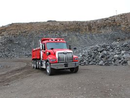 From oil fields to rock quarries, the Western Star 49X was built with vocational needs top oif...
