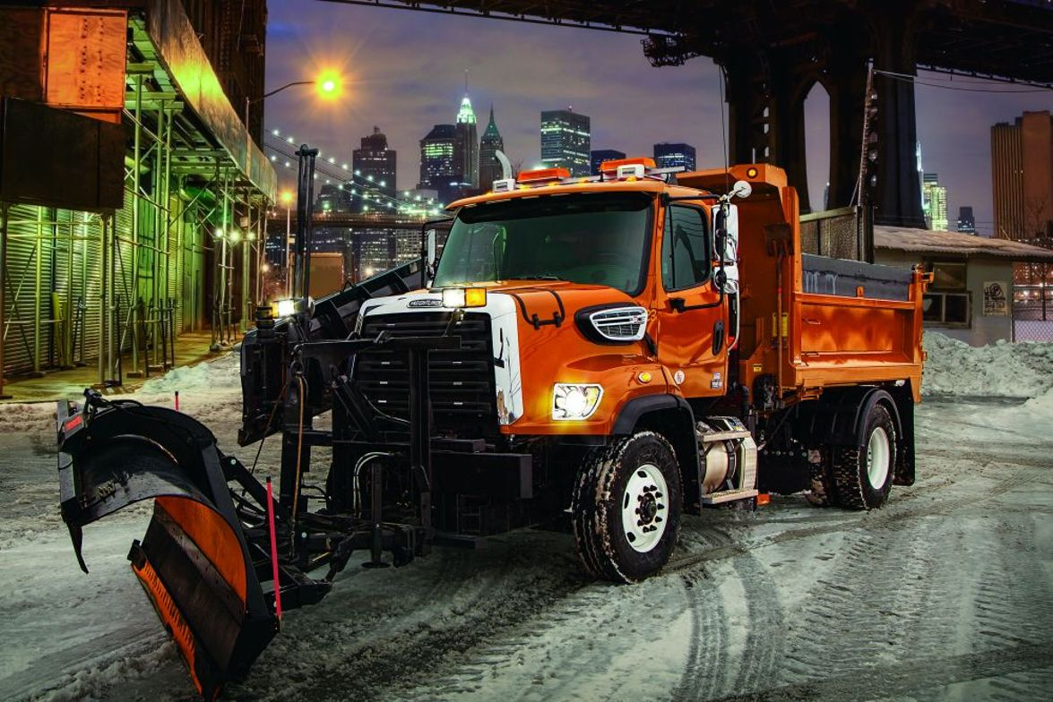 Freightliner 108SD: Ideal vocations for the Freightliner 108SD include construction, crane,...