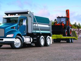 Kenworth T370: Ideal vocations for the Kenworth T370 include dump, fuel delivery, utility,...