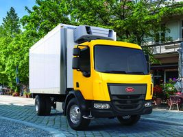 Peterbilt 220: Ideal vocations for the Peterbilt include city delivery, street sweeper, and...