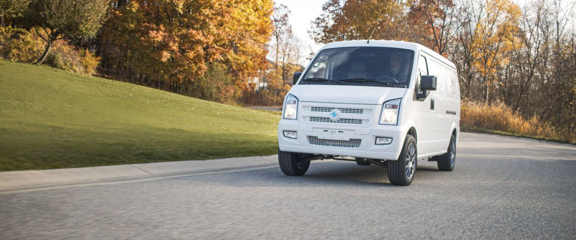 Launching in 2021, the Electric Last Mile Solutions (ELMS) Class 1 Urban Delivery van boasts 170...