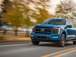 The 2021 Ford F-150 with available 3.5-liter PowerBoost V6 gives customers the ability to tow up...
