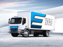 Zero-emission Kenworth K270E Class 6 and K370E Class 7 battery-electric vehicles are available...