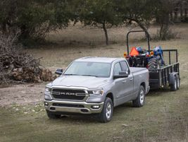 The Ram 1500 features up to 12,750 pounds of towing capability and 2,300 pounds of payload. The...
