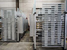 Drive units and floor slats are shipped from Madras  to locations around the world for...