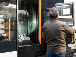 The machining facility at Keith creates the hydraulic   valve bodies that control the Walking...