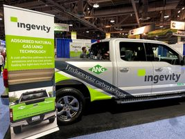 This Ingevity Ford F-150 is powered by renewable natural gas (RNG). Some benefits include a...