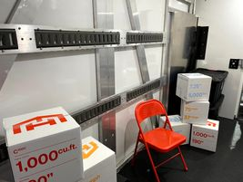 TheC1000 provides ample space for packages.