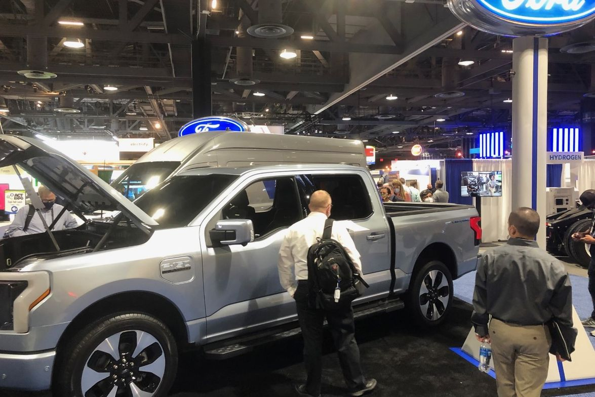 The 2022 F-150 Lightning Pro offers value and performance with a standard range battery and dual...