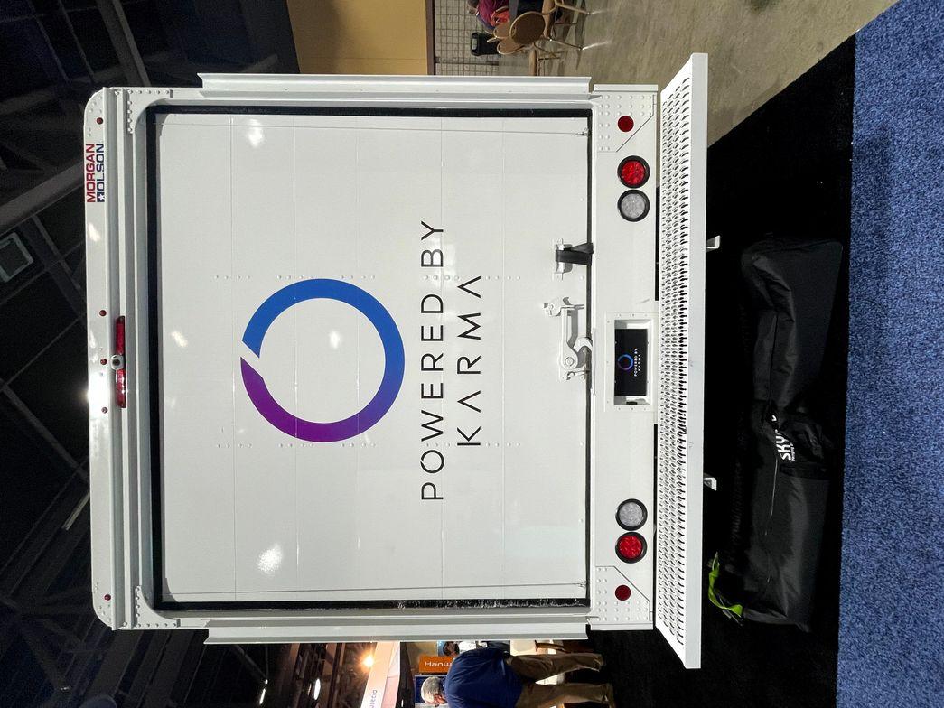 Karma's technology includes ADAS integration capability, advanced telematics, battery management...