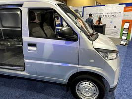 Electric Last Mile Solutions' (ELMS) Urban Delivery van was created to provide a better fit...