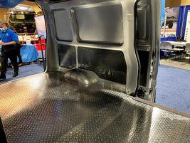 The Urban Delivery van has a cargo volume of 171 cu. ct.