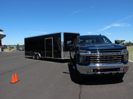 Chevrolet has added in a trailering checklist as well as a towing label matched to the VIN of the truck to ensure drivers know the exact weight the truck was spec'ed to tow.