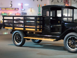 The 1926 Chevrolet Series X One-Ton truck was powered by a 170.9 CID inline 4, delivering 35 hp....