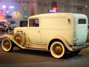 The 1933 Deluxe Panel Delivery was powered by the famous Blue Flame Six, a 207 CID inline 6,...