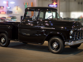 The 1956 3100 Series Stepside 1/2-ton truck was a carryover of the hugely popular 1955 model....