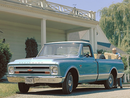 """Dubbed the """"Action Line,"""" the second-generation 1967 Chevrolet C/K Series added convenience..."""
