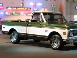The 1971 C10 was the most popular Chevrolet truck offered, with more than 260,000 units built....