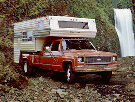 The first Crew Cab dually to hit the market, the 1973 Chevrolet C30 One-Ton Dually may be the...
